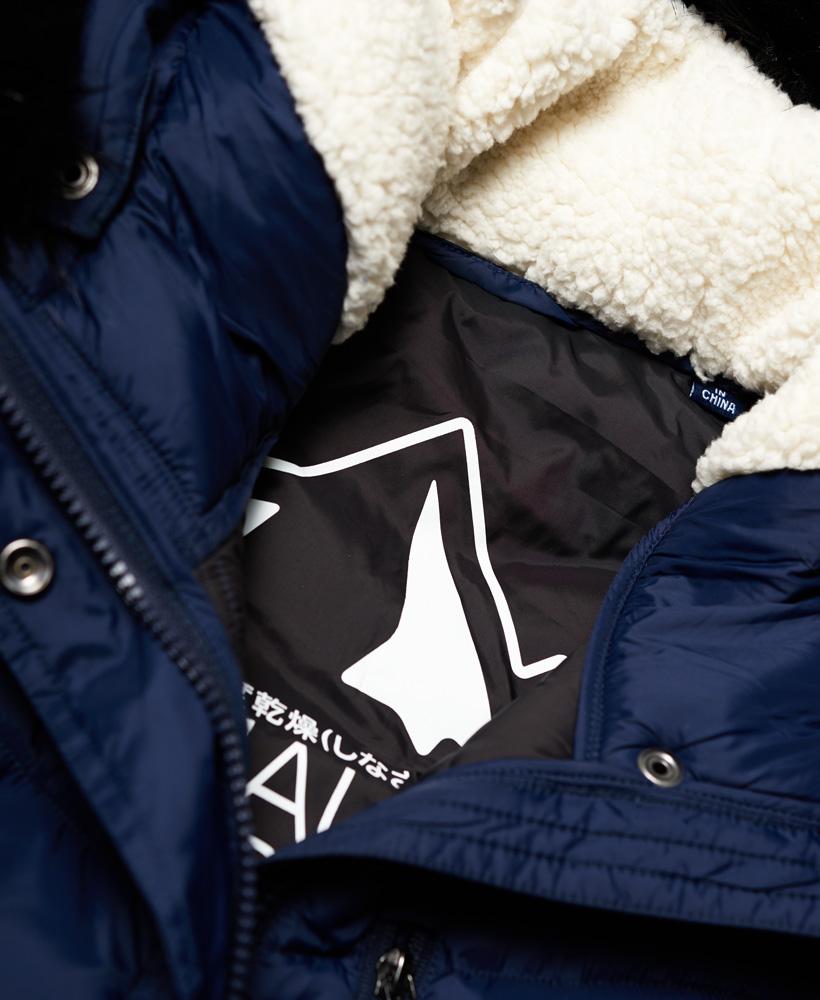 Superdry-Chevron-Faux-Fur-Super-Fuji-Jacket thumbnail 12