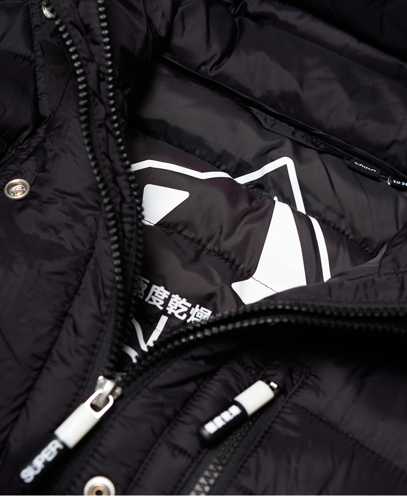 Superdry-Womens-Fuji-Slim-Double-Zip-Hooded-Jacket thumbnail 12