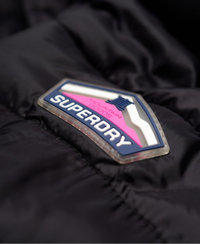 Superdry-Womens-Fuji-Slim-Double-Zip-Hooded-Jacket thumbnail 13