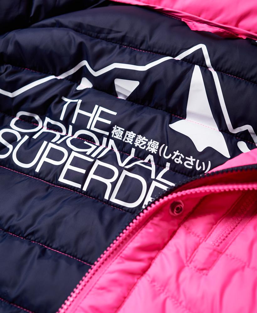 Superdry-Womens-Fuji-Slim-Double-Zip-Hooded-Jacket thumbnail 114