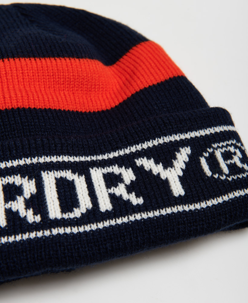Superdry-Mens-Body-Pop-Beanie-Size-1Size thumbnail 10
