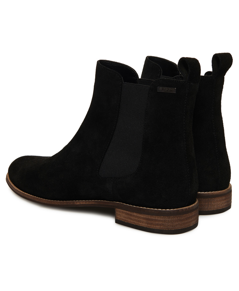 Superdry-Womens-Millie-Lou-Suede-Chelsea-Boots thumbnail 9
