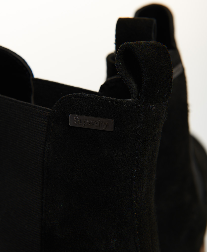 Superdry-Womens-Millie-Lou-Suede-Chelsea-Boots thumbnail 11
