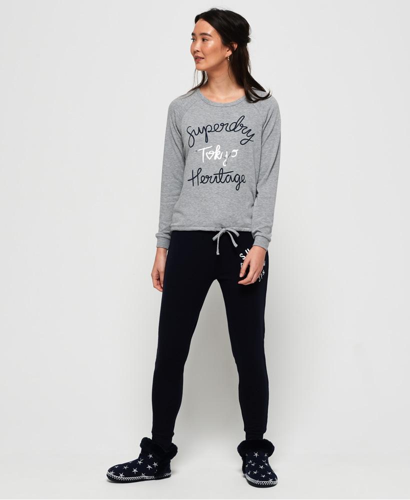 Superdry Womens Olivia Loungewear Crew Top