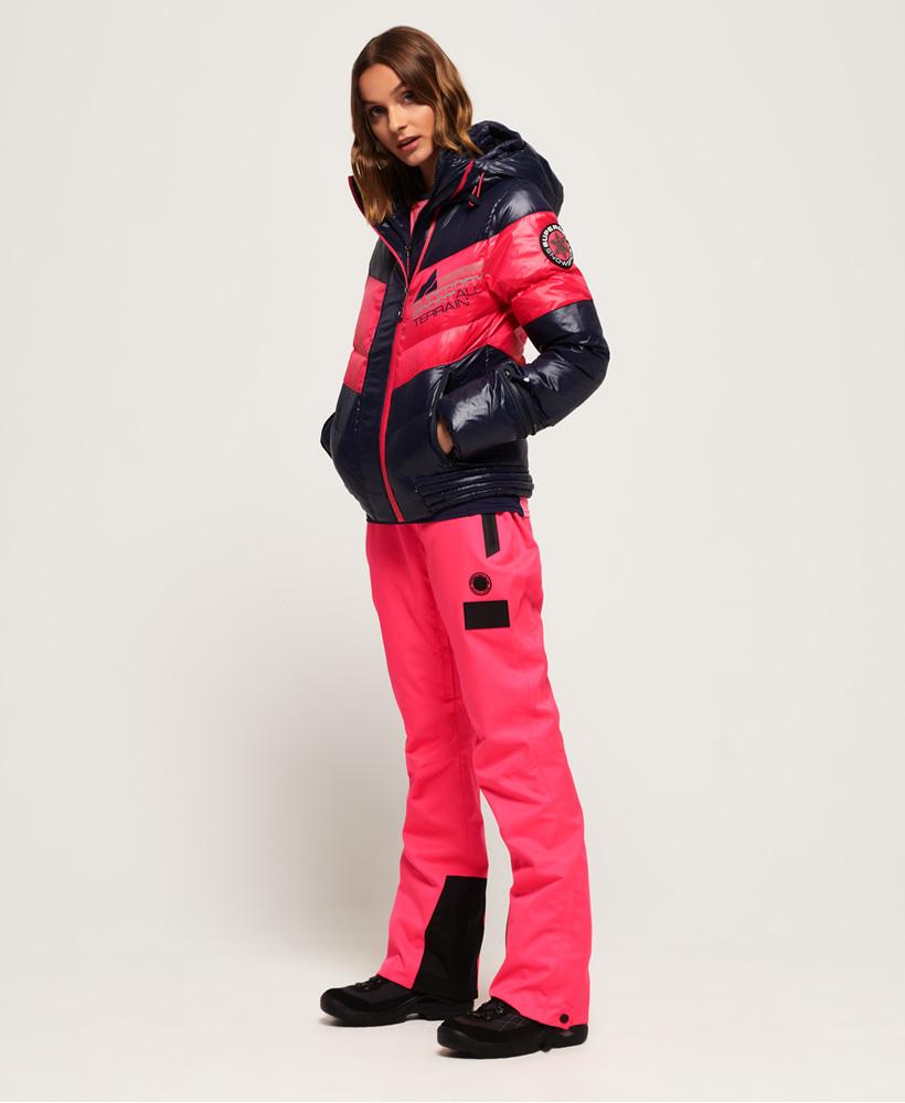 Superdry Damen Snow Terrain Daunen-Steppjacke