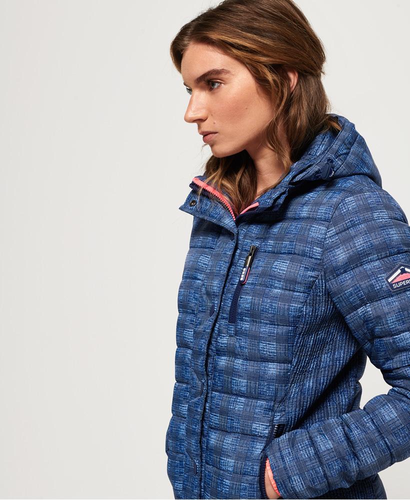 Superdry-Womens-Fuji-Slim-Double-Zip-Hooded-Jacket thumbnail 59