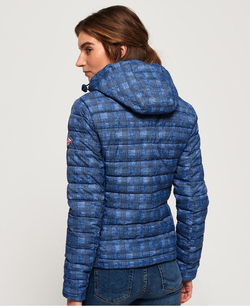 Superdry-Womens-Fuji-Slim-Double-Zip-Hooded-Jacket thumbnail 58