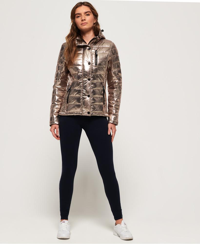 Superdry-Womens-Fuji-Slim-Double-Zip-Hooded-Jacket thumbnail 105
