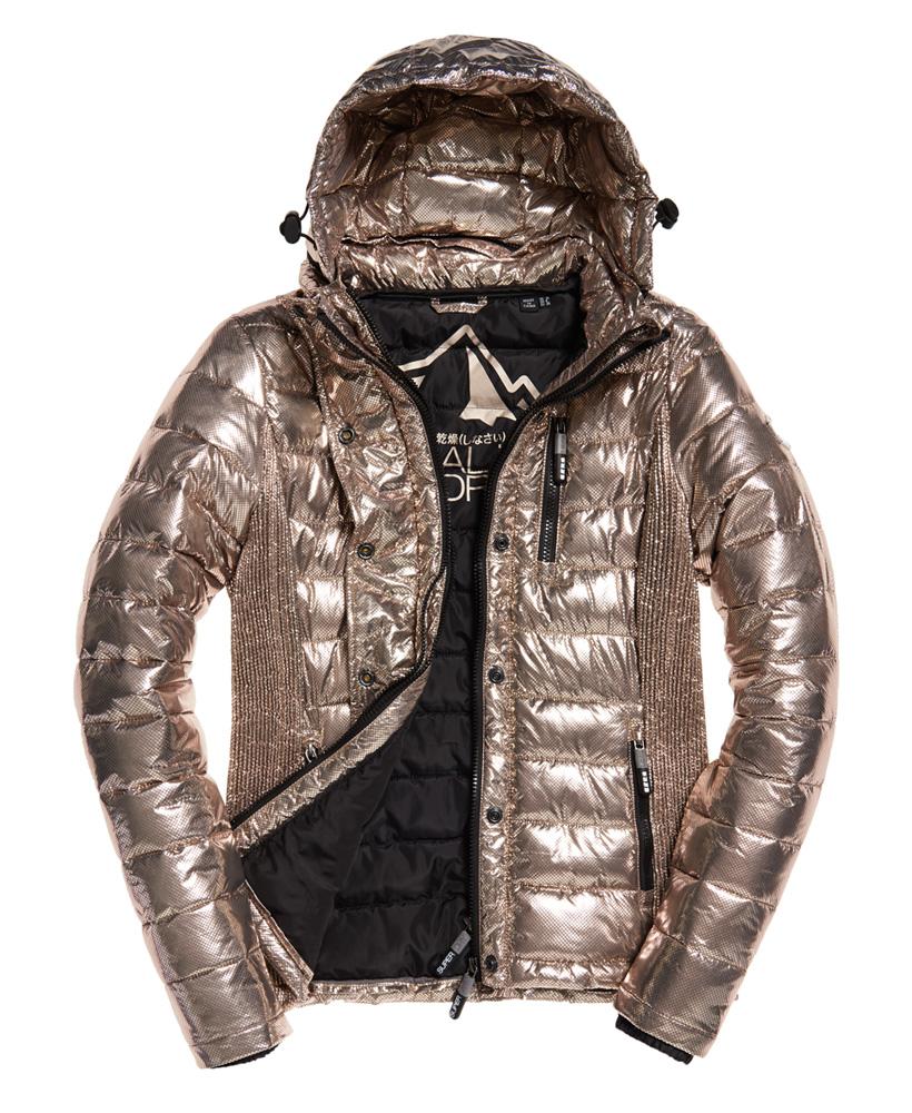 Superdry-Womens-Fuji-Slim-Double-Zip-Hooded-Jacket thumbnail 104