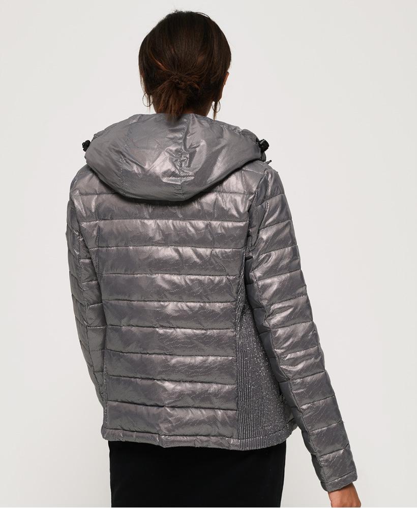 Superdry-Womens-Fuji-Slim-Double-Zip-Hooded-Jacket thumbnail 37