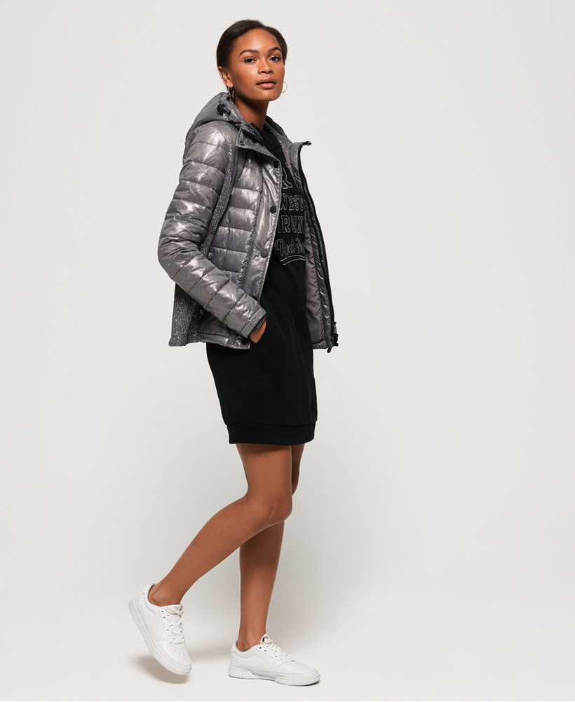 Superdry-Womens-Fuji-Slim-Double-Zip-Hooded-Jacket thumbnail 36
