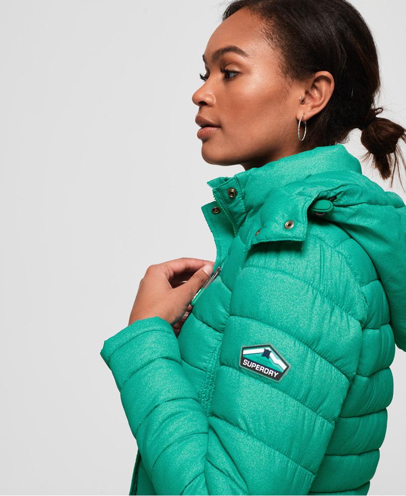Superdry-Womens-Fuji-Slim-Double-Zip-Hooded-Jacket thumbnail 52