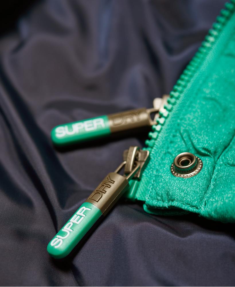 Superdry-Womens-Fuji-Slim-Double-Zip-Hooded-Jacket thumbnail 55