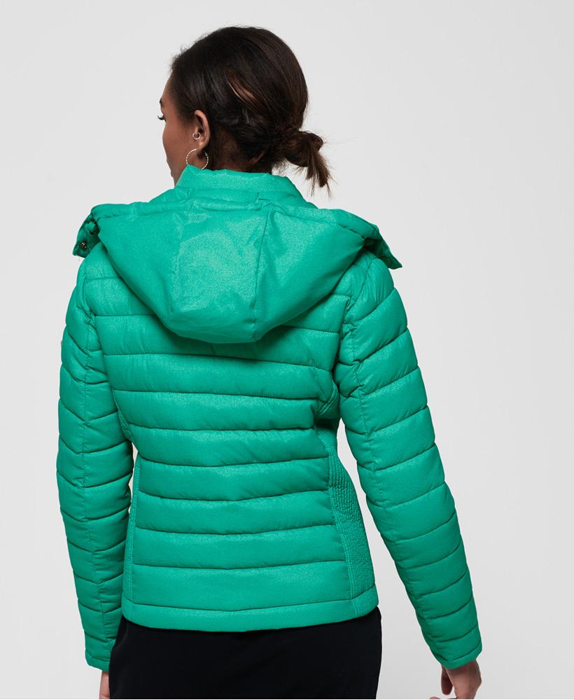 Superdry-Womens-Fuji-Slim-Double-Zip-Hooded-Jacket thumbnail 51