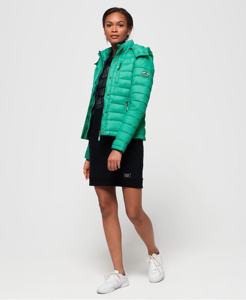 Superdry-Womens-Fuji-Slim-Double-Zip-Hooded-Jacket thumbnail 50