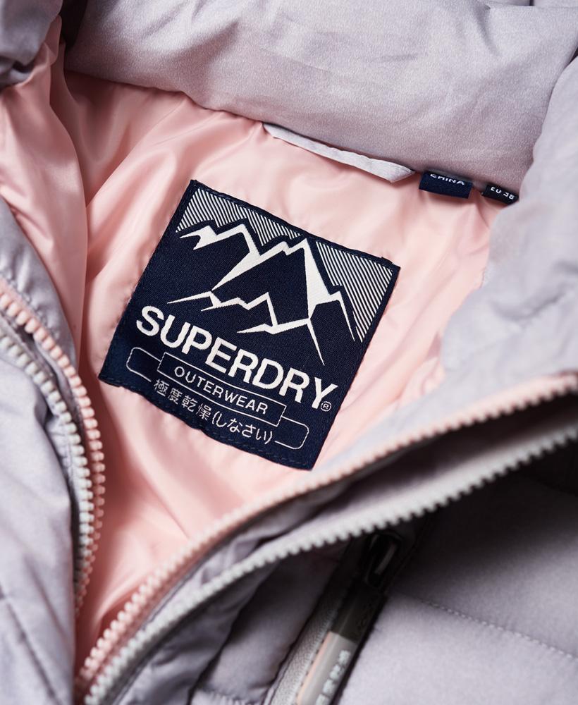 Superdry-Womens-Fuji-Slim-Double-Zip-Hooded-Jacket thumbnail 46