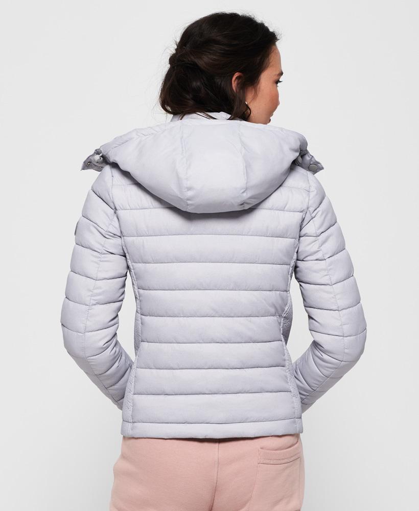 Superdry-Womens-Fuji-Slim-Double-Zip-Hooded-Jacket thumbnail 45