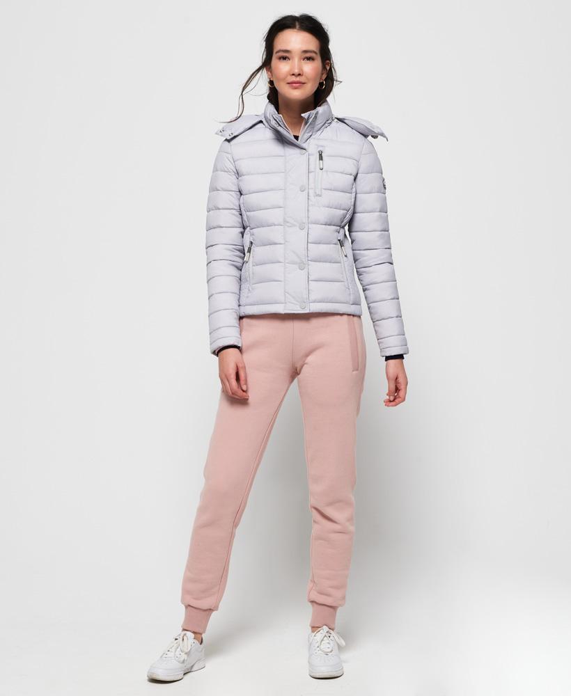 Superdry-Womens-Fuji-Slim-Double-Zip-Hooded-Jacket thumbnail 44