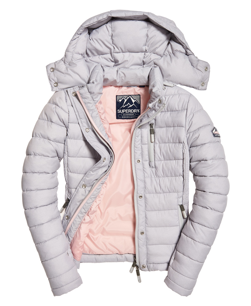 Superdry-Womens-Fuji-Slim-Double-Zip-Hooded-Jacket thumbnail 43