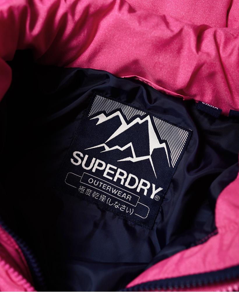 Superdry-Womens-Fuji-Slim-Double-Zip-Hooded-Jacket thumbnail 100