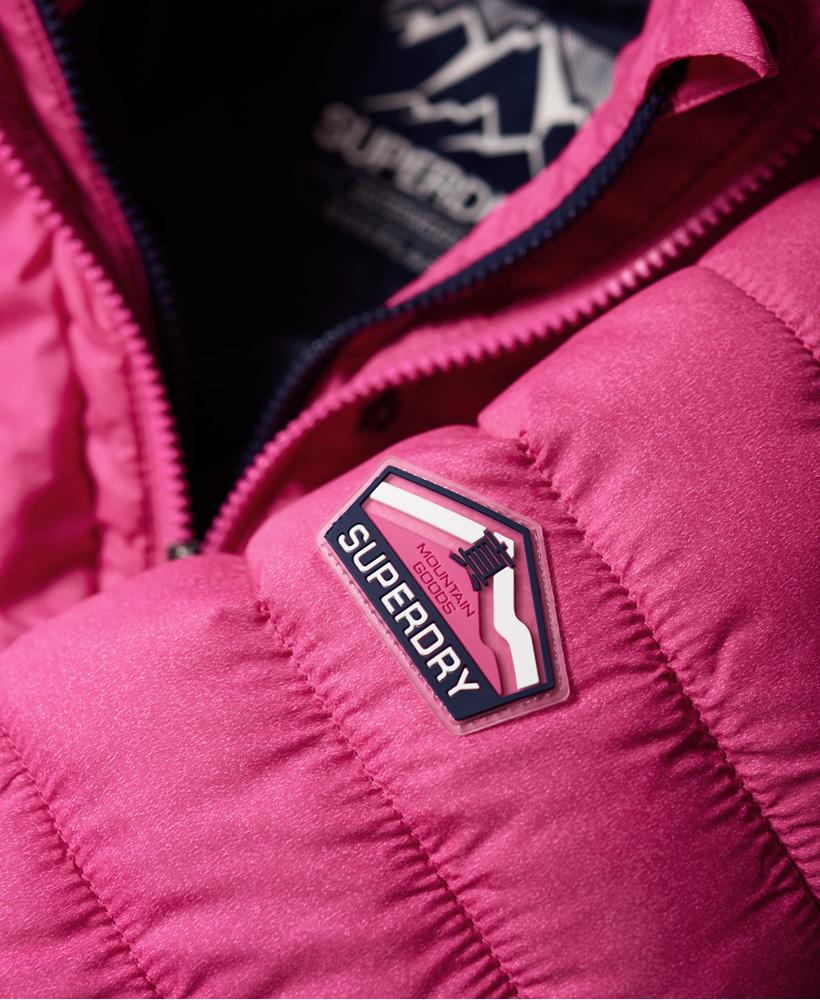 Superdry-Womens-Fuji-Slim-Double-Zip-Hooded-Jacket thumbnail 101