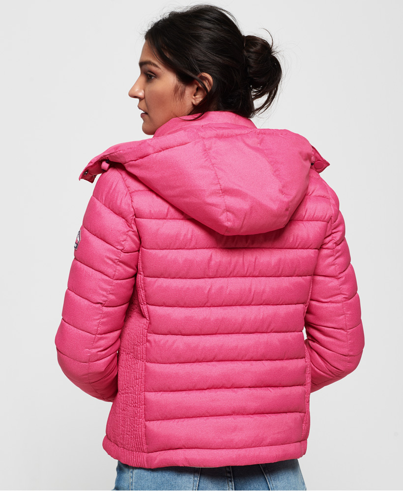 Superdry-Womens-Fuji-Slim-Double-Zip-Hooded-Jacket thumbnail 99