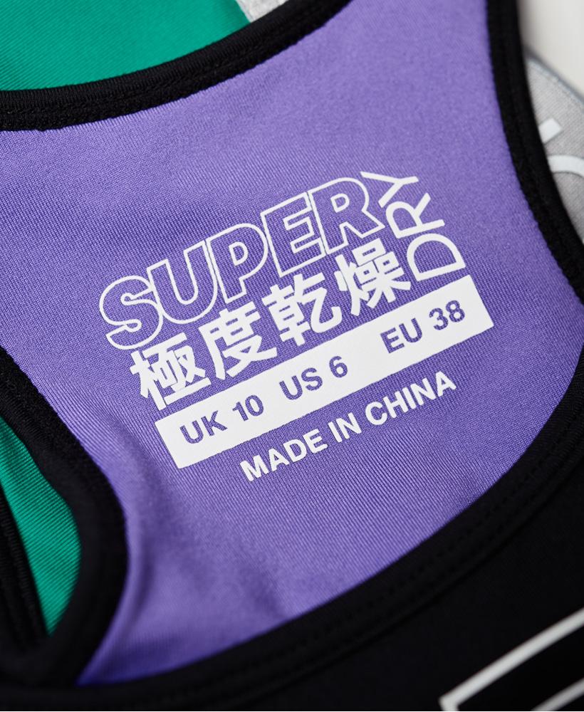Superdry Damen Super Sport-Bh