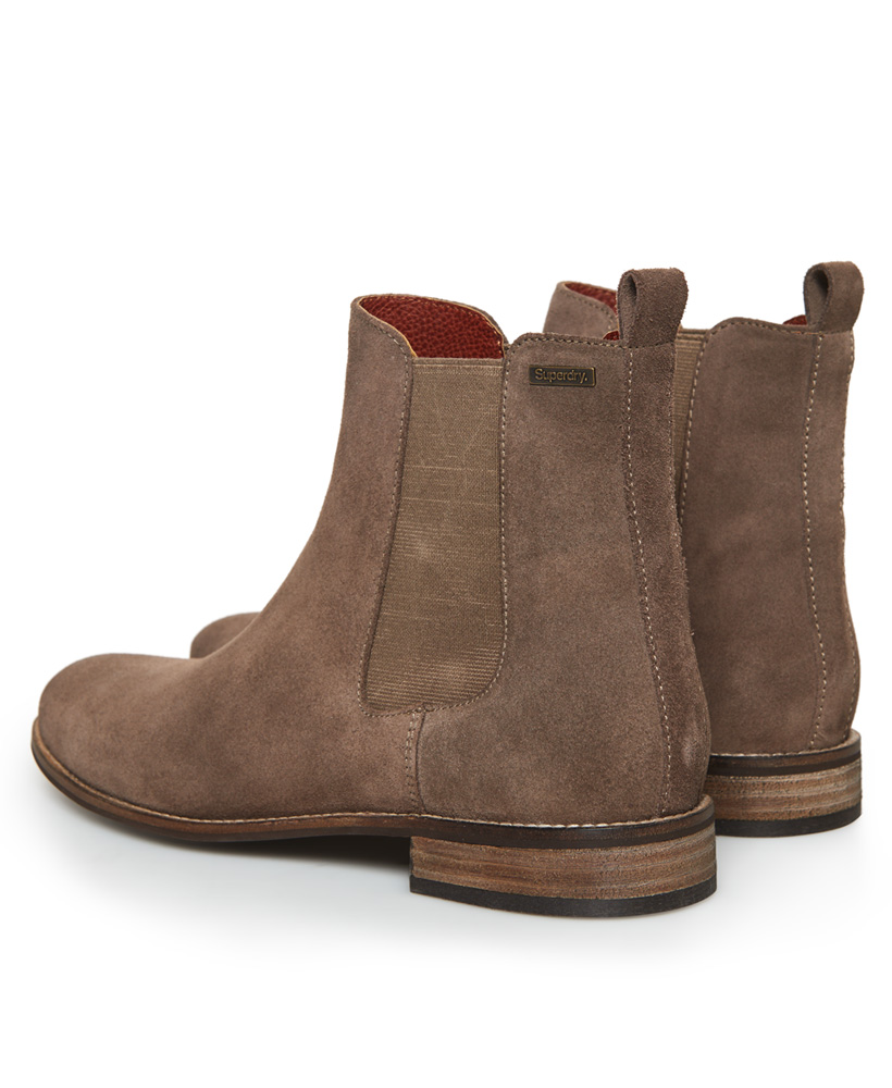 Superdry-Womens-Millie-Lou-Suede-Chelsea-Boots thumbnail 16