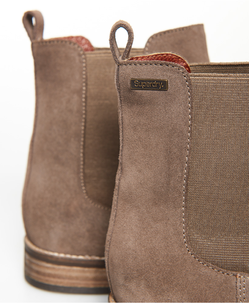 Superdry-Womens-Millie-Lou-Suede-Chelsea-Boots thumbnail 19