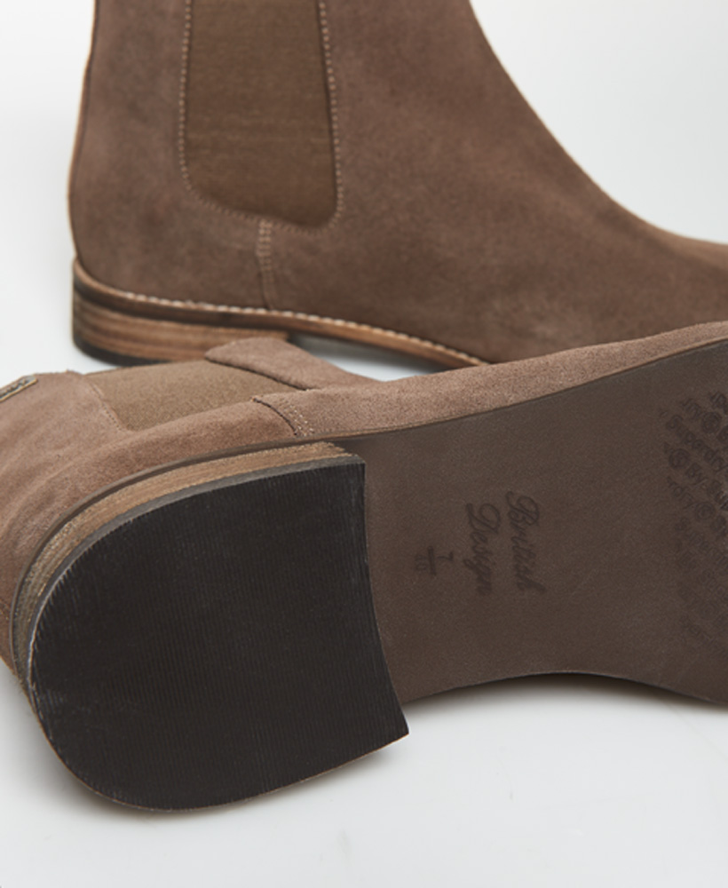 Superdry-Womens-Millie-Lou-Suede-Chelsea-Boots thumbnail 20