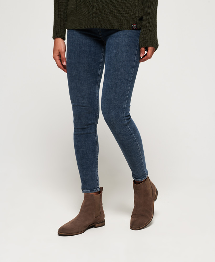 Superdry-Womens-Millie-Lou-Suede-Chelsea-Boots thumbnail 17