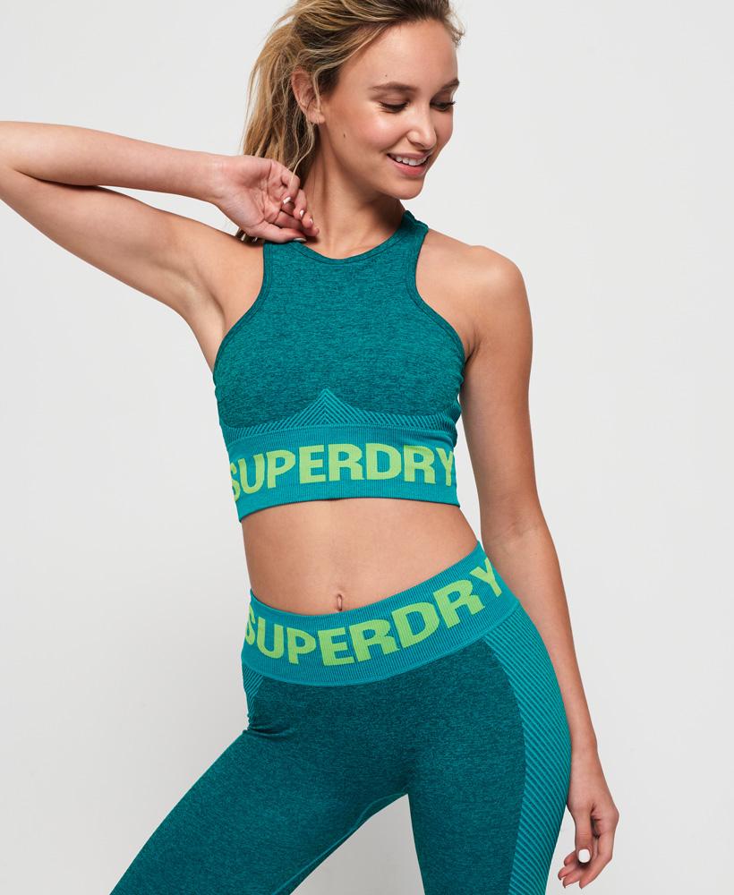 Superdry Damen Nahtloser Active Bh
