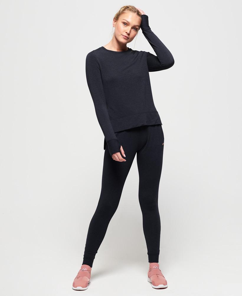 Superdry-Damen-Active-Studio-Luxe-Rundhals-Sweatshirt Indexbild 7