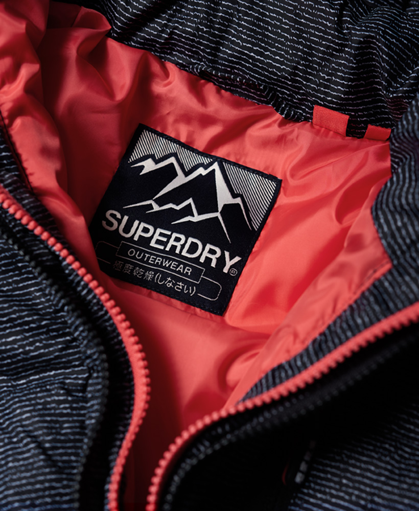Superdry-Womens-Fuji-Slim-Double-Zip-Hooded-Jacket thumbnail 73