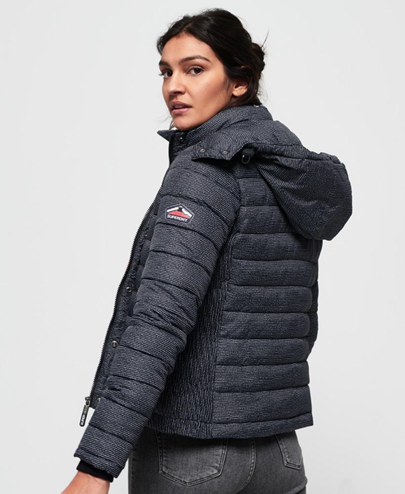 Superdry-Womens-Fuji-Slim-Double-Zip-Hooded-Jacket thumbnail 71