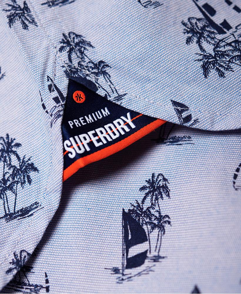Superdry Herren Premium Shoreditch Kurzarmhemd