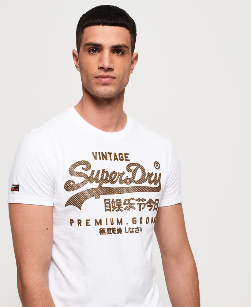 Superdry-Mittelschweres-Vintage-Logo-Authentic-T-Shirt Indexbild 12