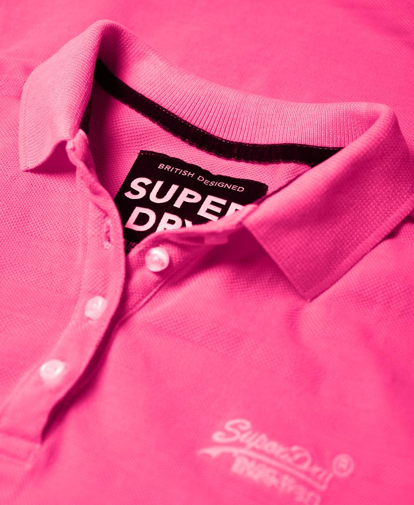 Superdry-Womens-Cotton-Polo-Top thumbnail 20