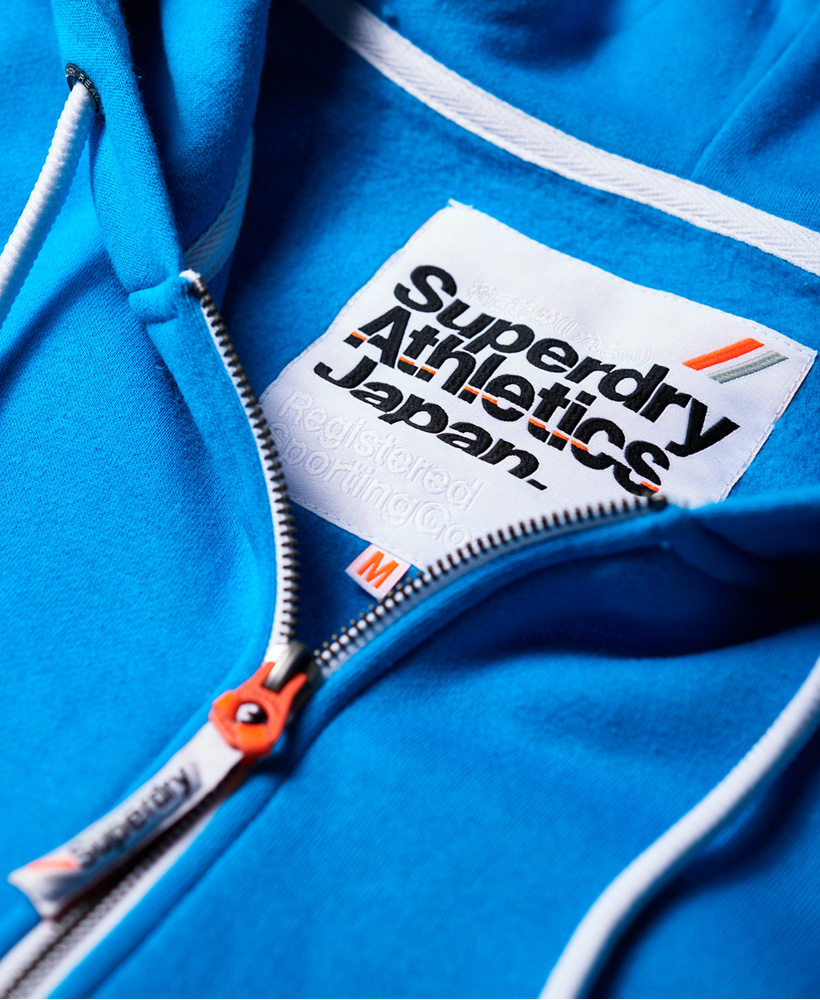 Superdry-Mens-La-Athletics-Zip-Hoodie thumbnail 6