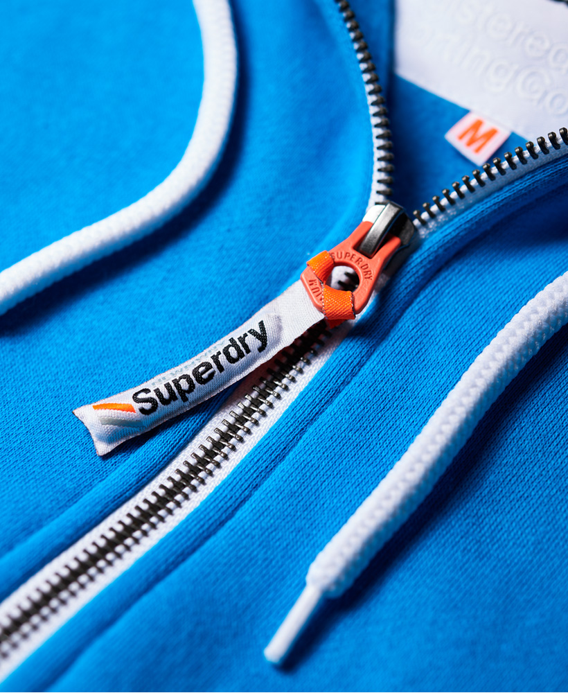 Superdry-Mens-La-Athletics-Zip-Hoodie thumbnail 7