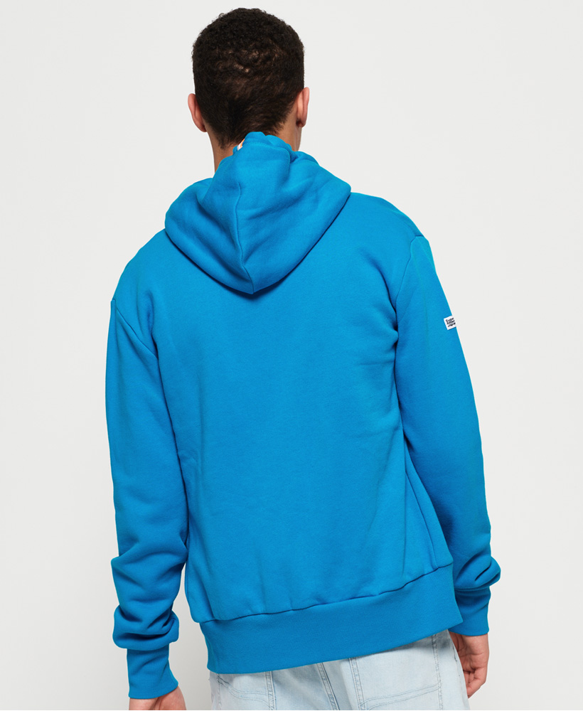 Superdry-Mens-La-Athletics-Zip-Hoodie thumbnail 5