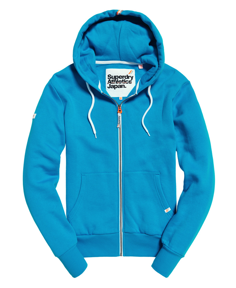 Superdry-Mens-La-Athletics-Zip-Hoodie thumbnail 3