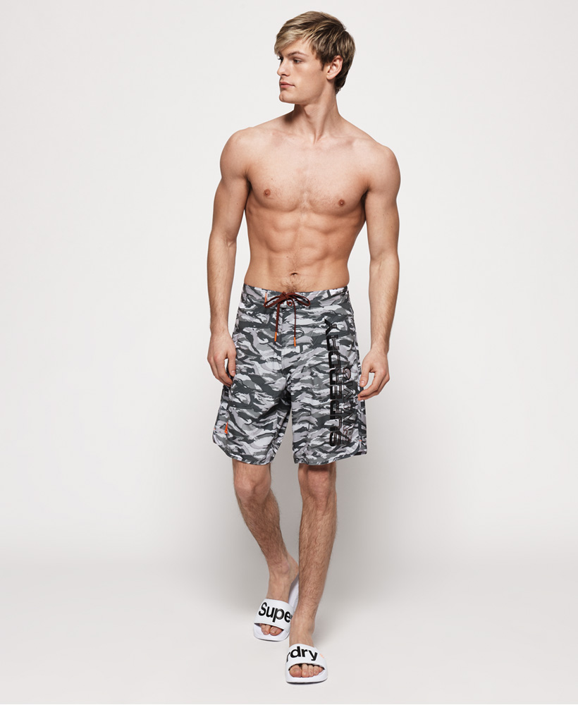 Superdry-Herren-Deep-Water-Boardshorts Indexbild 9