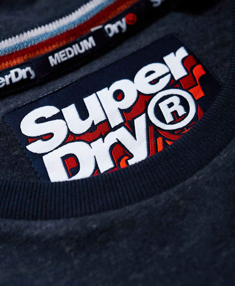Superdry-Orange-Label-Cali-Stack-T-Shirt miniatura 6