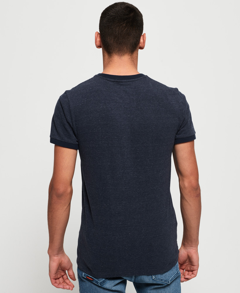 Superdry-Orange-Label-Cali-Stack-T-Shirt miniatura 4