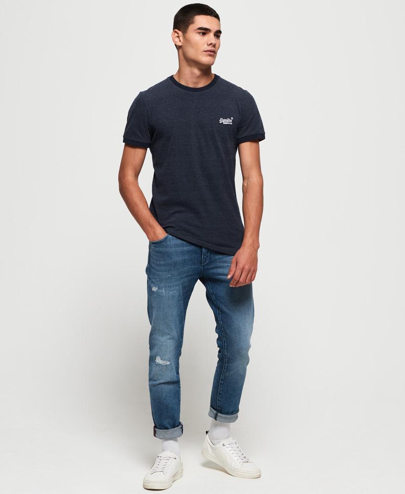 Superdry-Orange-Label-Cali-Stack-T-Shirt miniatura 3