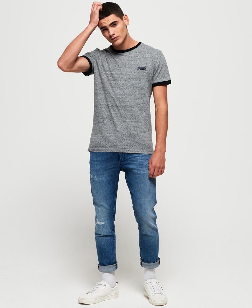 Superdry-Orange-Label-Cali-Stack-T-Shirt miniatura 10