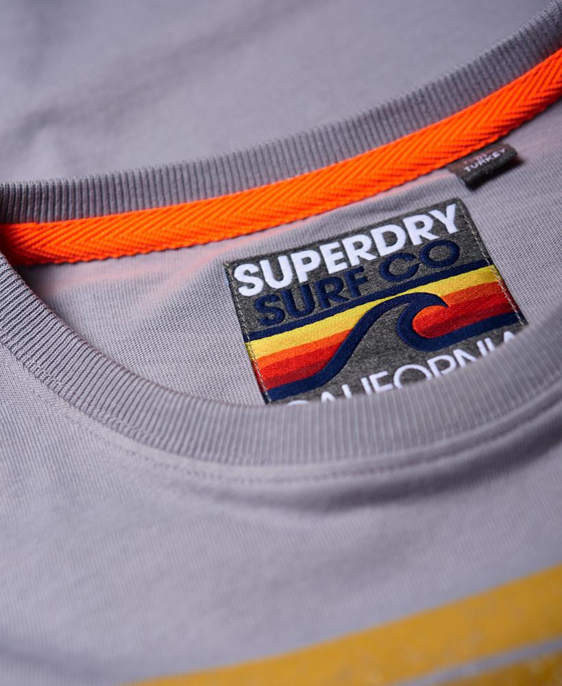 Superdry-Herren-Retro-Surf-T-Shirt miniatura 26