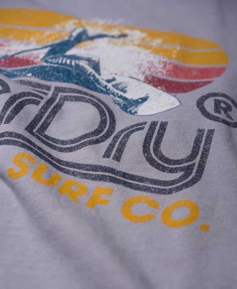 Superdry-Herren-Retro-Surf-T-Shirt miniatura 27