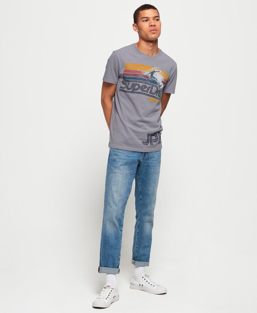 Superdry-Herren-Retro-Surf-T-Shirt miniatura 23